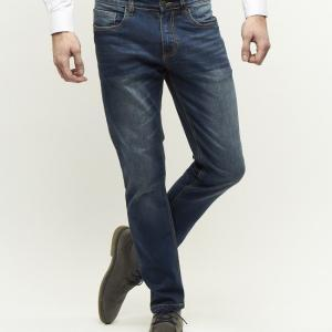 Palm S07 slim fit medium blue denim