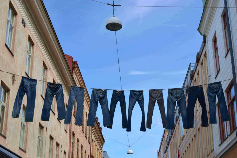 Jeansmarkt hoge korting