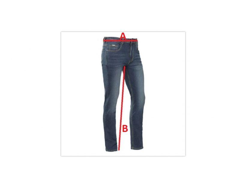 Jeansmaten Brams Paris Jason C41 slim fit medium blue