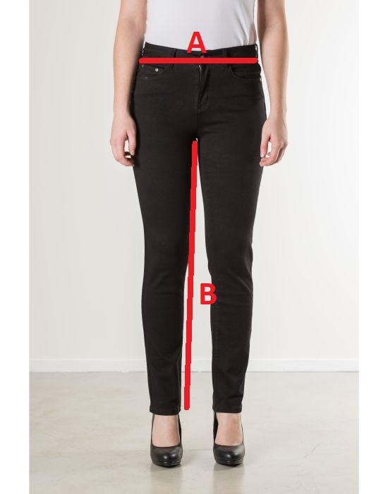 Jeansmaten New Star Jeans Linosa Black